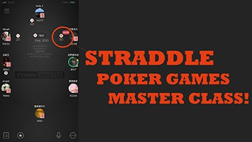 straddle poker games master class PRODUCT NEW